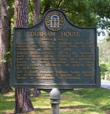 Durham House Marker Photo, Click for full size