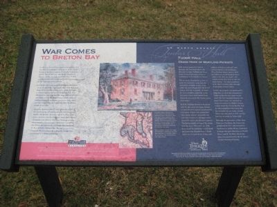 War Comes to Breton Bay Marker image. Click for full size.