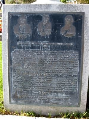 Dedicated to the Founders of Todos Santos Marker image. Click for full size.