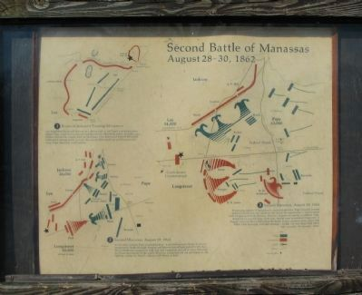 Second Battle of Manassas Marker image. Click for full size.