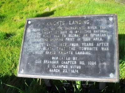 Knights Landing Marker image. Click for full size.