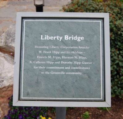 Liberty Bridge Marker image. Click for full size.