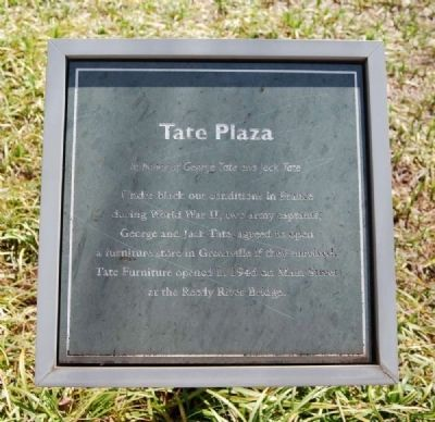 Tate Plaza Marker image. Click for full size.