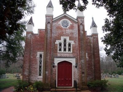 Immanuel Episcopal Church built in 1853. Photo, Click for full size
