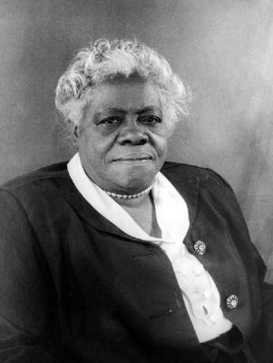 Mary McLeod Bethune image. Click for more information.