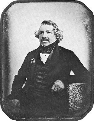 Louis Daguerre image, Click for more information