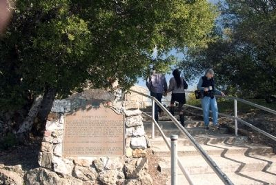 Mount Diablo Marker Photo, Click for full size