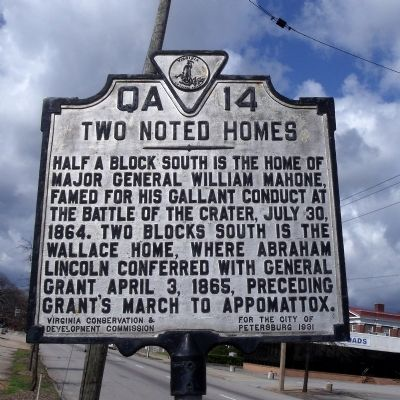 Two Noted Homes Marker image. Click for full size.
