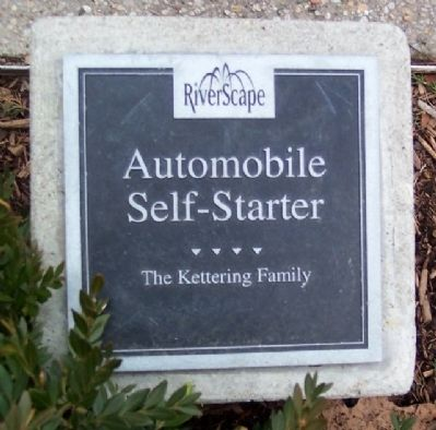 Kettering Automobile Self-Starter Marker image. Click for full size.