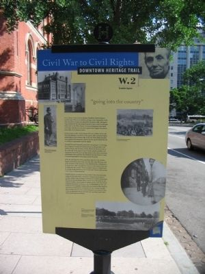 "Franklin Square - ""Going into the country"" Marker Photo, Click for full size"