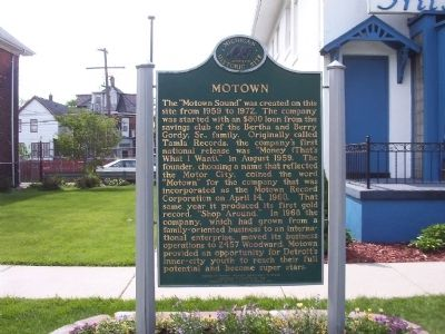Motown Marker Photo, Click for full size