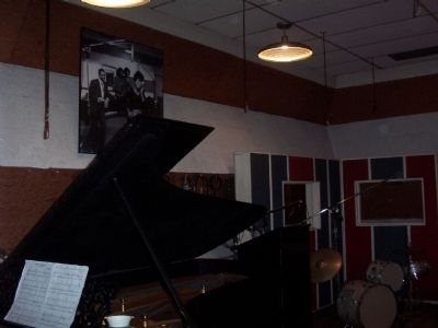 View of Inside Motown Studio Photo, Click for full size