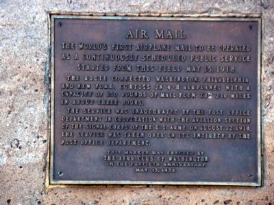 Air Mail Marker image. Click for full size.
