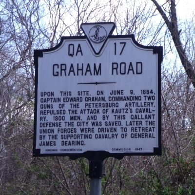 Graham Road Marker image. Click for full size.