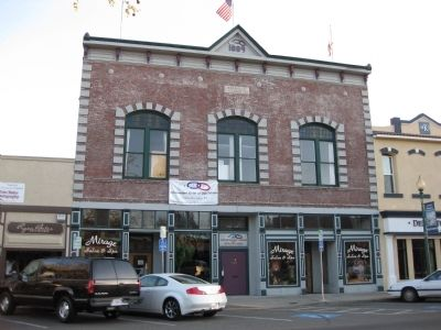The Vacaville Odd Fellows Hall (Constructed 1889) image. Click for full size.