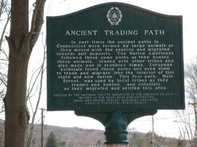 Ancient Trading Path Marker image. Click for full size.