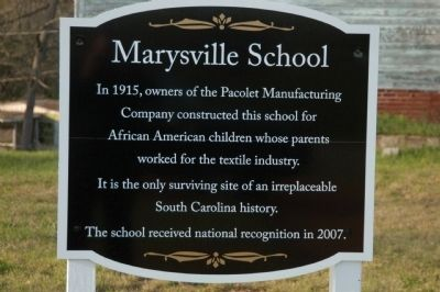 Marysville School Marker image. Click for full size.
