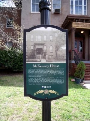 McKenney House Marker image. Click for full size.