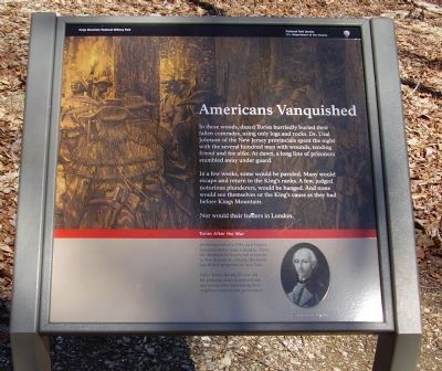 Americans Vanquished Marker image. Click for full size.