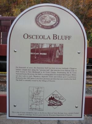 Osceola Bluff Marker image. Click for full size.