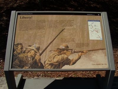 Liberty! Marker Photo, Click for full size