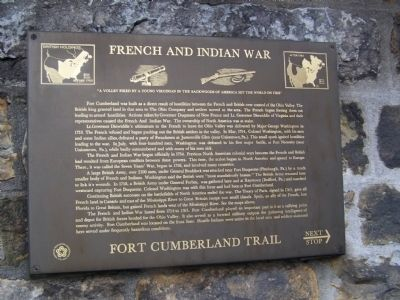 French and Indian War Marker image. Click for full size.