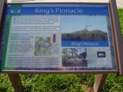 King's Pinnacle Marker image. Click for full size.