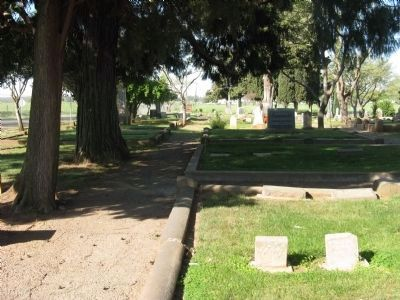 Wheatland Cemetery image. Click for full size.