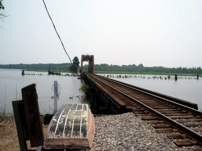 York River RR at White Hose Landing, New Kent County, Va. Photo, Click for full size