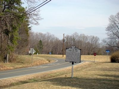 Point of Fork Marker Photo, Click for full size