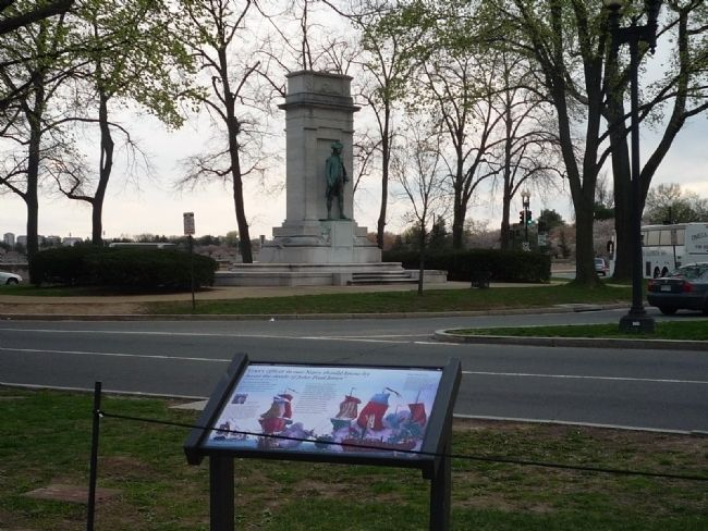 John Paul Jones Memorial and Marker Photo, Click for full size
