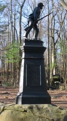 10th Pennsylvania Reserves Monument Photo, Click for full size