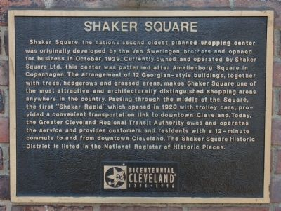 Shaker Square Marker image. Click for full size.