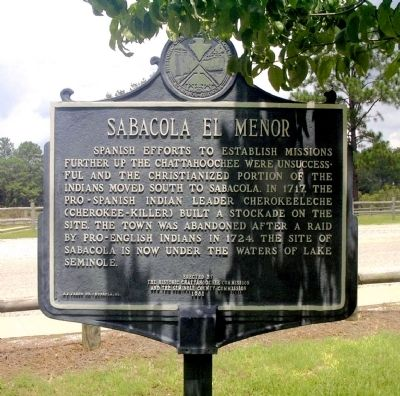 Reverse side of Sabacola El Menor Marker Photo, Click for full size