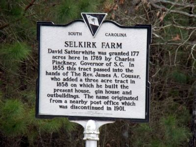 Selkirk Farm Marker image. Click for full size.
