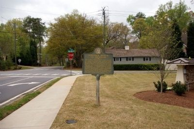 Howard's March to Buckhead Marker image. Click for full size.