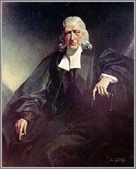 John Wesley portait Photo, Click for full size