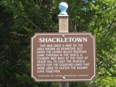 Shackletown Marker image. Click for full size.