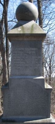 Back of Monument Photo, Click for full size