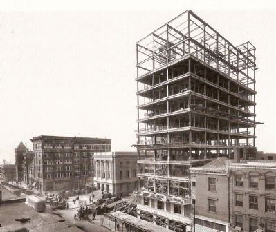 Poinsett Hotel Under Construction Photo, Click for full size
