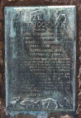 Chief Joc-O-Sot Marker image. Click for full size.