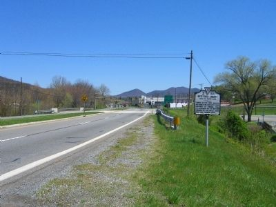 Roanoke County / Botetourt County Marker image. Click for full size.