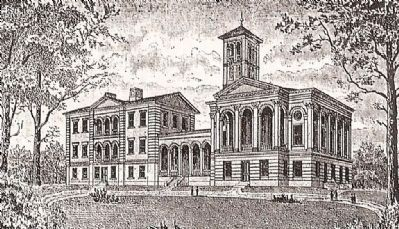 Furman University (1854) image. Click for full size.