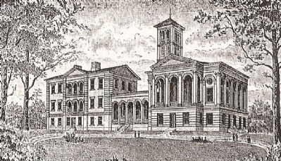 Furman University Engraving Photo, Click for full size