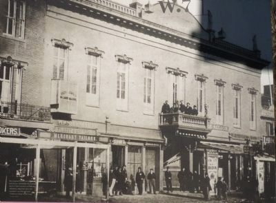 National Theater during the Civil War image. Click for full size.