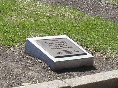 Marker in Cambridge, Mass Photo, Click for full size
