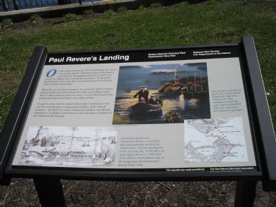 Paul Revere's Landing Marker image. Click for full size.