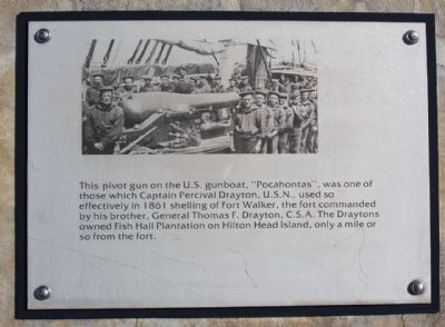 additional Fort Walker Interpretive Marker Photo, Click for full size