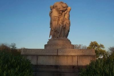 John Ericsson Memorial - west side Photo, Click for full size