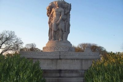 John Ericsson Memorial - south side Photo, Click for full size